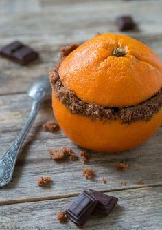 Gâteau au chocolat cuit dans une orange | Jujube en cuisine