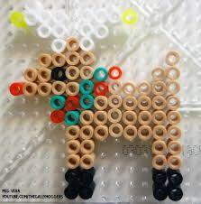 Image result for reindeer perler beads pattern