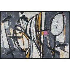 Lee Krasner Untitled 1951 Oil on canvas.) Davis Museum at Wellesley College, Wellesley, Massachusetts, USA. Lee Krasner, Classic Artwork, Post Impressionism, Mid Century Art, Contemporary Paintings, American Artists, Female Art, New Art, Art History