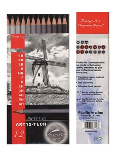 Graphite Drawing Pencil Sets feature a range of graphite hardness.  The graphite leads are exceptionally smooth and creamy, and are contained inside beautiful cedar casings. 38% off list prices everyday on MisterArt.com - anytime, any day Graphite Drawings, Pencil Drawings, Charcoal Drawings, Drafting Drawing, Brush Sets, Discount Lighting, Military Discounts, Jewelry Tools, Amazing Architecture