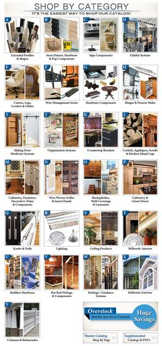 Everything in one place Outwater Plastics Industries Kitchen Island Cabinetry, Glass Shelves Kitchen, Door Organizer, Organizers, System Kitchen, Plastic Industry, Hardware Components, Doors Online, Home Ceiling