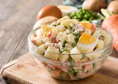 Recetas de cocina: 8 Aderezos saludables para tus ensaladas - Adelgazar en casa Pasta Salad, Salad Recipes, Potato Salad, Salads, Food And Drink, Potatoes, Health, Ethnic Recipes, Home