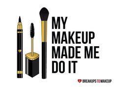 Znalezione obrazy dla zapytania keep calm im makeup artist