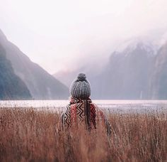 Winter reeds at Milford Sound. Photography by Adventure Awaits, Adventure Travel, Adventure Style, Trekking, Milford Sound, Kayak, Valley View, Adventure Is Out There, Wanderlust Travel