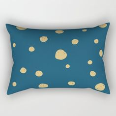 Hand Drawn Circles on Dark Blue Rectangular Pillow by diana_ioana Down Pillows, Throw Pillows, Pillow Inserts, Accent Pillows, Hand Sewing, Dark Blue, How To Draw Hands, Vibrant, Bath