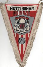nottingham forest in Football Pennant and Flag Memorabilia Football Program, Football Cards, Football Team, British Football, American Football League, Nottingham Forest Fc, Association Football, Everton Fc, Pennant Flags