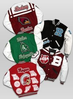 Top Reasons Chenille Appeal Should Be Your Wholesale Varsity Jacket Awards Vendor Varsity Jacket High School, Varsity Jacket Outfit, Letterman Jacket Patches, Varsity Letterman Jackets, Band Jacket, Vest Jacket, Leather Jacket, Design T Shirt, Swagg
