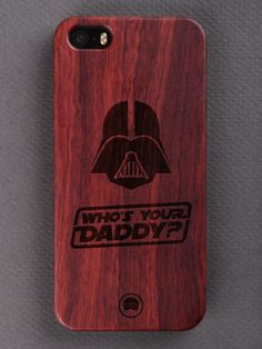 Buy Who's Your Daddy Engraved Wooden Smartphone Case Online for Wooden Phone Case, Laser Engraving, Daddy, Smartphone, Iphone Cases, Iphone Case, Fathers, I Phone Cases