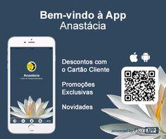 A app Centro Anastácia já se encontra disponível nas lojas Apple e Google Play! Pode descarregá-la no seu telemóvel a partir deste link. Descontos, novidades e cartão de fidelização na descarga da aplicação.