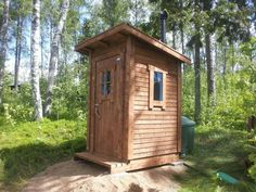 Building An Outhouse, Lean To Roof, Plumbing, Square Feet, Paths, Shed, House Ideas, Barn, Houses