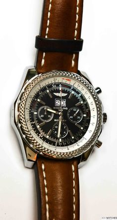 Breitling Bentley A4462 Automatic Chronograph | 300watches #luxurywatchbrands #breitlingwatches