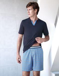 Pijama corto Strand Ref 1525A68