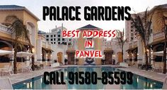 PALACE GARDENS, PANVEL BY HIRCO - PROJECT HIGHLIGHTS    Palace Gardens at Panvel by HIRCO has been designed with utmost focus to ergonomics and aesthetics while satiating an utmost passion for neoclassical architecture. From external walls that are heat and weather resistant to granite kitchen platforms, concealed corrosion resistant CPVC plumbing to immaculately painted walls and ceilings, nothing has been dealt with complacence at the Palace Gardens.