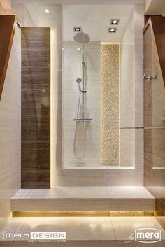 Łazienka w wykonaniu biura projektowego Mera Design