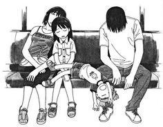 Yotsuba&! After going to the beach