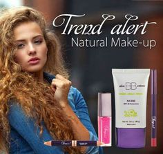 Trend alert !!!!! Natural make up that leaves you skin glowing and flawless! Order online now! Worldwide delivery. http://www.healeraloe.flp.com/