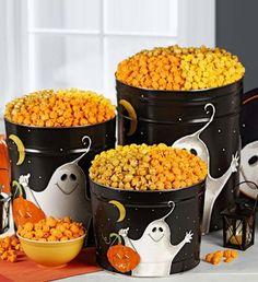 halloween popcorn gift baskets