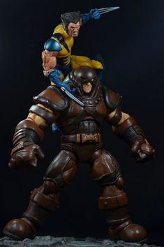 Ultimate Alliance Juggernaut Custom Figure (Ultimate Marvel) Custom Action Figure by toymancustoms Base figure: Hulk