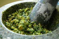 Une Pesto à l'ail des ours tout vert pour fêter la Saint Patrick