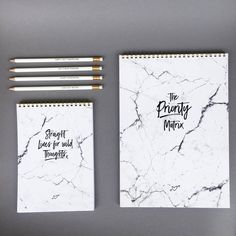MARBLE FAMILY IS GROWING! ✖️A4 'THE PRIORITY MATRIX' ✖️A5 'STRAIGHT LINES -  WILD THOUGHTS' ✖️A6  'LIST MAKERS GONNA LIST' (IN PRODUCTION)  #realpassionates  #marblelove #marmorliebe  #stationery #writingpad #pencils #pencillove #wildthoughts #onlinebusiness #penandpaper #deskaccessories #paperlove #ownit #goaldigger #writeitdown #passion #creative #inspiredaily  #SimpleButSpecial #backtopaper #papergoods #creativemind #quotes #design #words #motivation #listmakers #prioritymatrix…