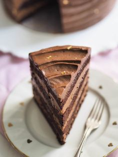 The Perfect Chocolate Cake Annin Oven My Recipes, Sweet Recipes, Perfect Chocolate Cake, Good Food, Yummy Food, Most Delicious Recipe, Vegan Cake, Let Them Eat Cake, No Bake Cake