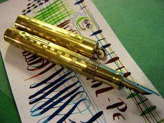 Wahl Very flex 14K Nib Fountain Pen Gold Filled CLEAN! vtg Flexible Eversharp #Wahl