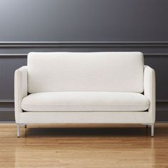 Shop Flatiron Linen Apartment Sofa. Sized Just Right For Small Spaces,  Streamlined Sofa Makes