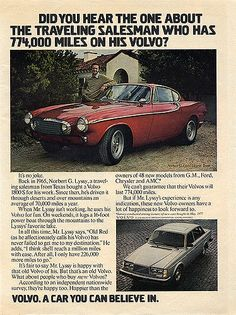 774,000 miles on his Volvo | 1800S; Publication: Unknown; Da… | Flickr