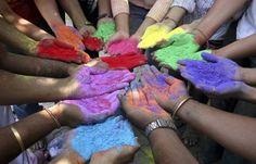 #Holi festival of colors