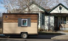 At 84 Square Feet, Home Takes Tiny House Movement Tinier - The New York Times