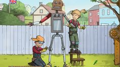 Educational & fun interactive story: Hanna & Henri- The Robot! #apps #appsforkids #storyapps