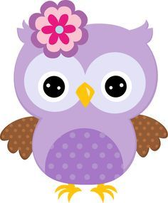 Cute cartoon owls blue owl clip art vector clip art More