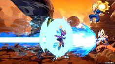 Dragon Ball FighterZ - Goku Kamehameha