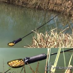 NGT-7m-Carbon-Fibre-Long-Reach-Baiting-Pole-Handle-With-Free-Spoon-amp-Float