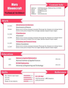 What a Doll - Free Resume Template by Hloom.com