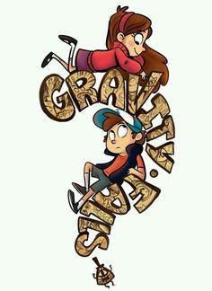 Mabel and Dipper. Oh How Much I Love Gravity Falls Libro Gravity Falls, Gravity Falls Fan Art, Gravity Falls Dipper, Gravity Falls Journal, Disney And Dreamworks, Disney Pixar, Sharpie91, Dipper E Mabel, Dipper Pines