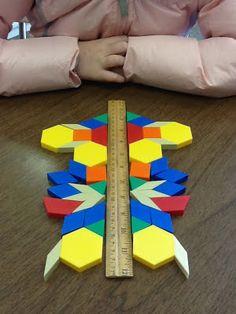 Geometry Unit and Symmetry Activity - Simetria Math For Kids, Fun Math, Math Games, Math Activities, Kids Fun, Math Classroom, Kindergarten Math, Teaching Math, Future Classroom
