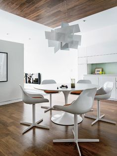 dining room with foscarini 39 s big bang fixture my interior projects pinterest room. Black Bedroom Furniture Sets. Home Design Ideas