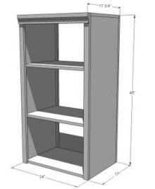 Ana White   Build a Side Hutch for the Classic Storage Collection   Free and Easy DIY Project and Furniture Plans