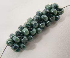Cubic right angle weave - link to video tute. #seed #bead #tutorial