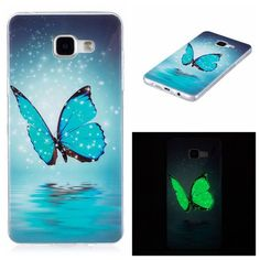 For Samsung Galaxy J3 J5 J7 Case Ultra Thin Luminous Clear Soft Silicon TPU GEL Phone Cases For Samsung A3 A5 Cover Glow in Dark