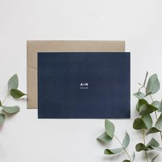minimal #weddinginvitation design