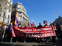 29 de enero de 2012: Por supuesto, estamos presentes con nuestra pancarta