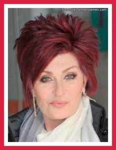 Love Sharons Hair on Pinterest | Sharon Osbourne, Hairstyles and ...