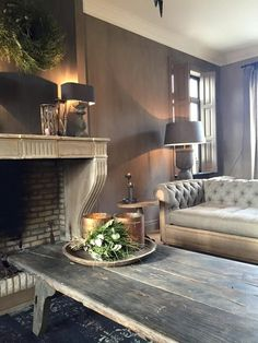 Love this.loe fireplace design, fireplace mantels, fireplaces, home and living Dream House Interior, Gray Interior, Interior Design, My Living Room, Home And Living, Living Room Decor, Fireplace Design, Fireplace Mantels, Fireplaces