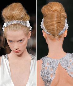 Noiva - Sugestões de cabelos e maquiagem para casamentos de dia e à noite