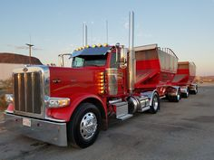 Big Rig Trucks, Dump Trucks, Lifted Trucks, Cool Trucks, Peterbilt 389, Peterbilt Trucks, Chevy Trucks, 6x6 Truck, Custom Big Rigs