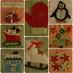 Sale! Christmas quiet book by Mamonina on Etsy
