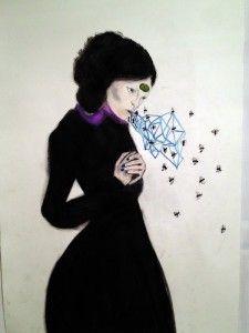 Whisper of Soul , Caroline Vitelli Inner Demons, Selling Art Online, Original Artwork, Snow White, Disney Characters, Fictional Characters, Artsy, Culture, Portrait
