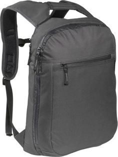 Everest Slim Laptop Backpack Black - via eBags.com!